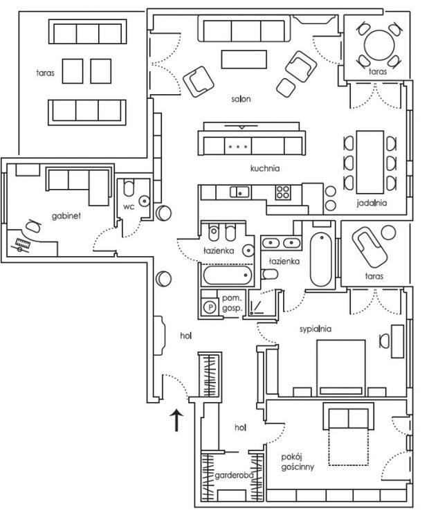 projekt urządzenie mieszkania
