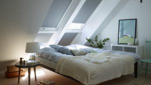 aranżacja poddasza okna dachowe