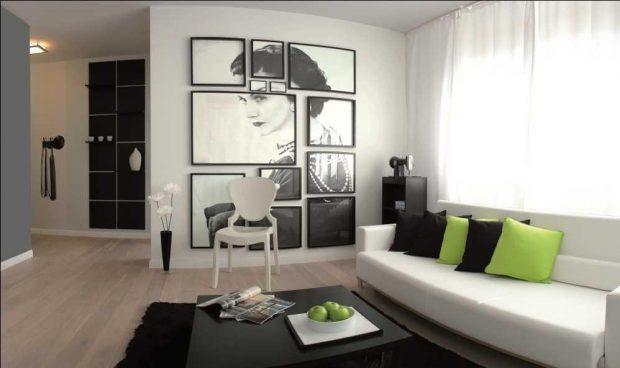 fotografie na ścianach