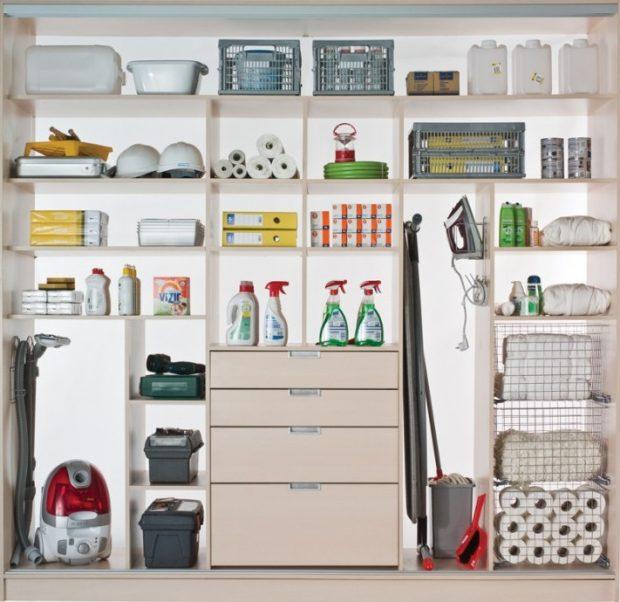 zabudowa szafy półki
