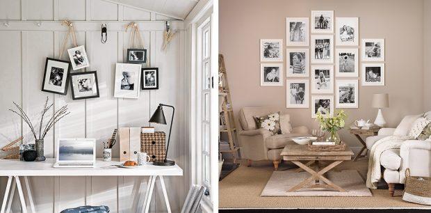 galeria zdjęć na ścianach