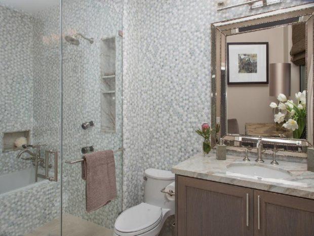 styl transitional łazienka