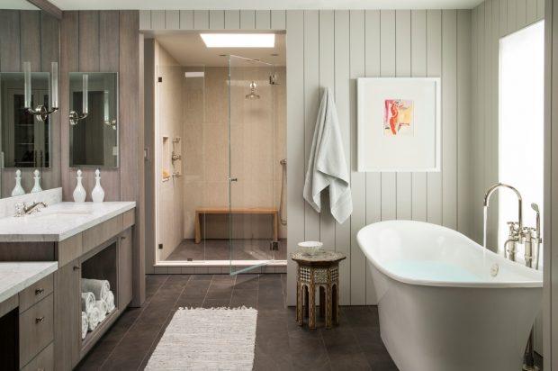 aranżacja łazienki w stylu transitional