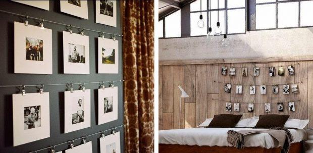 nowoczesne galerie zdjęć na ścianie