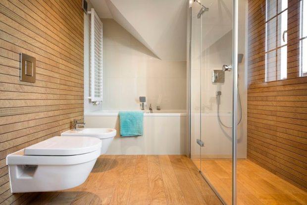 Drewniana Podłoga W łazience 123budujemy