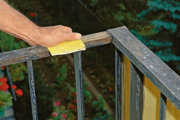 jak odnowić balustradę