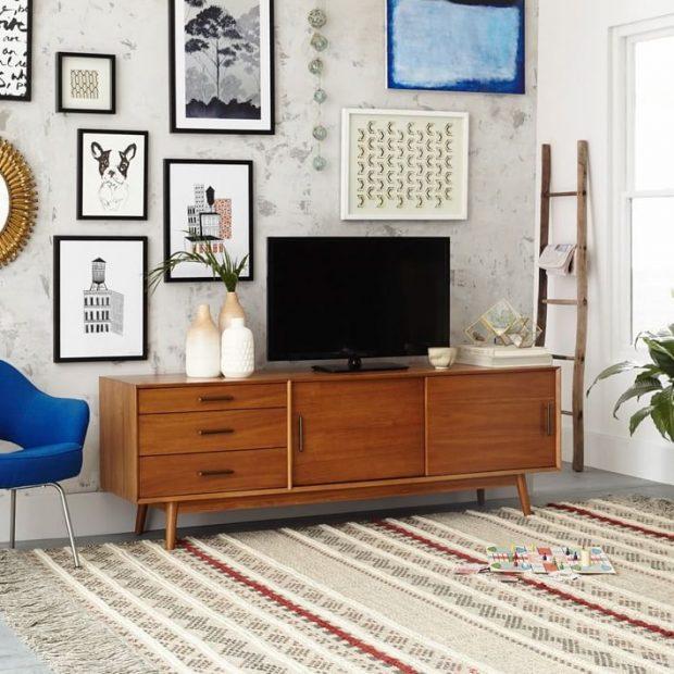 telewizora w salonie pomysł