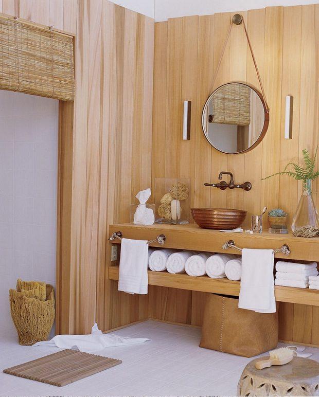 kolor masła orzechowego w łazience