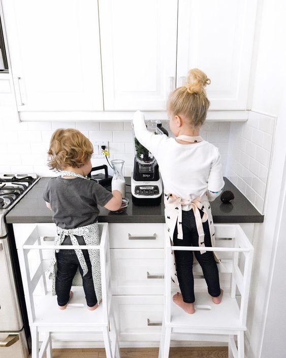 bezpieczna kuchnia dla dziecka