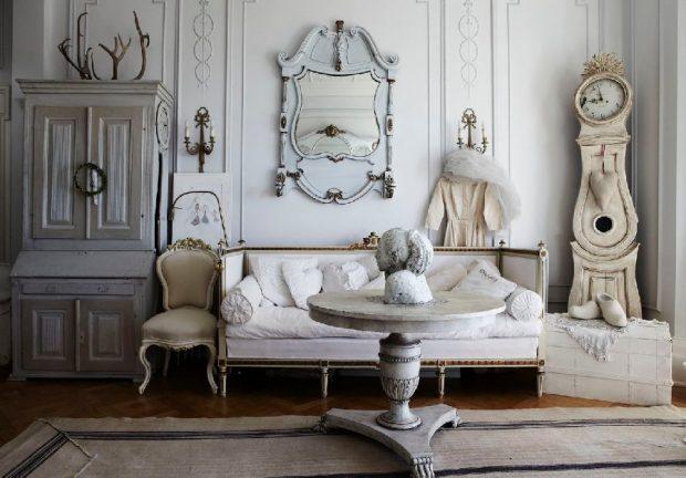 zegary w klasycznych wnętrzach