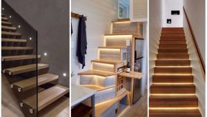 oświetlenie schodów wewnetrznych