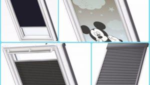 rolety okna dachowe