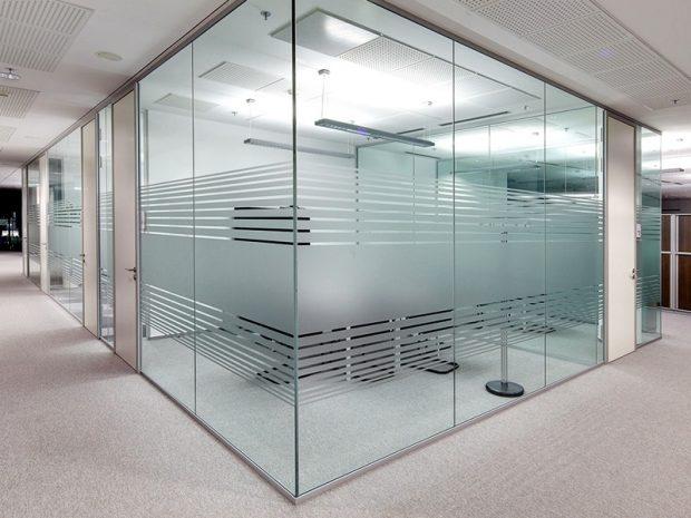 folia statyczna biuro open space