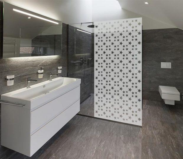 folia statyczna kabina prysznicowa