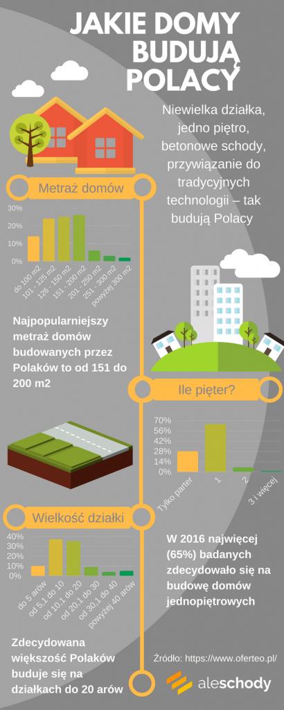 jakie-domy budują polacy infografika