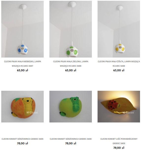 lampy dziecięce