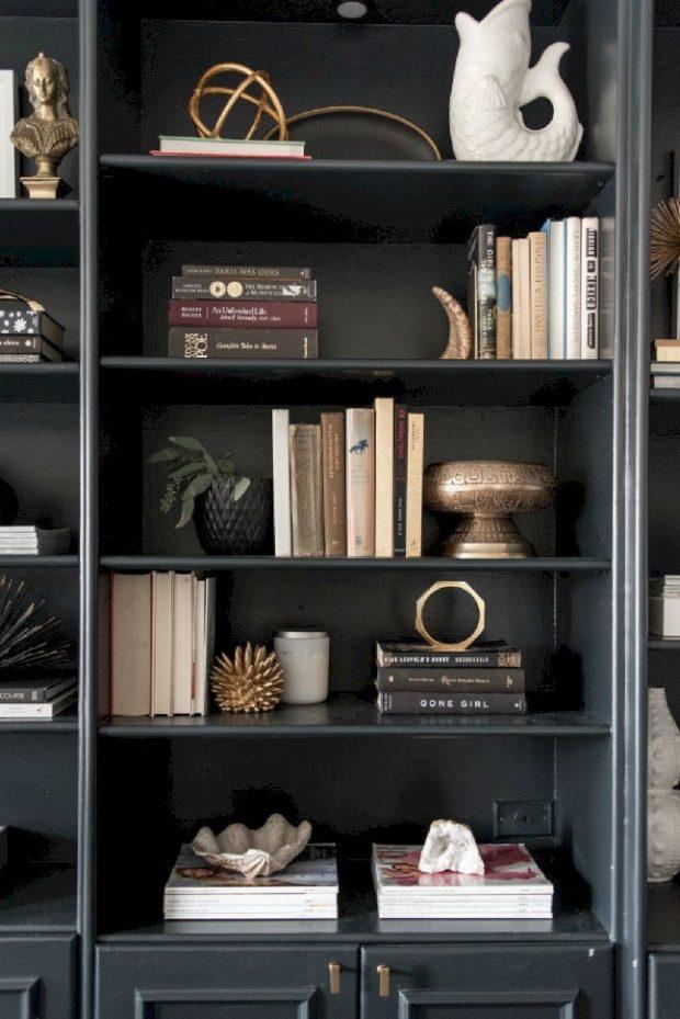 półki książki meblościanka