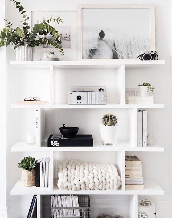 shelfie zdjęcia półke