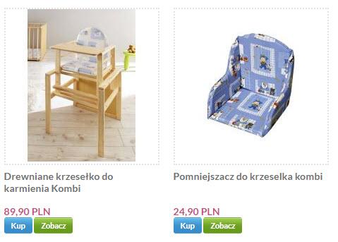 krzesełko do karmienia sklep