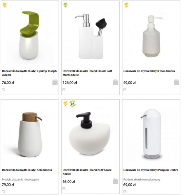 modne dodatki do łazienki sklep internetowy