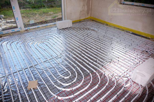 instalacja ogrzewanie podłogowe
