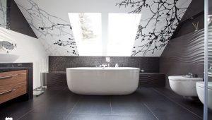 jak odmienić sufit w łazience