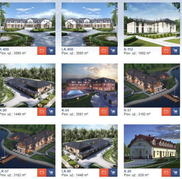 gotowe projekty hoteli