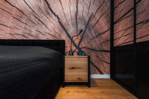 Night frame - szafka industrialna od LOFT Decora