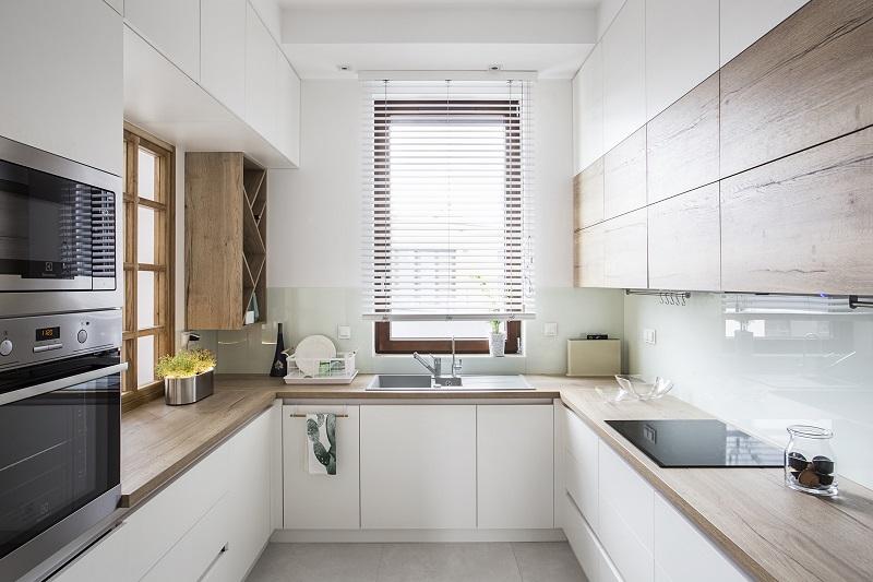 Perfect Space Drewno W Aranzacji Wnetrz Kuchnia Z Drewnianym Blatem