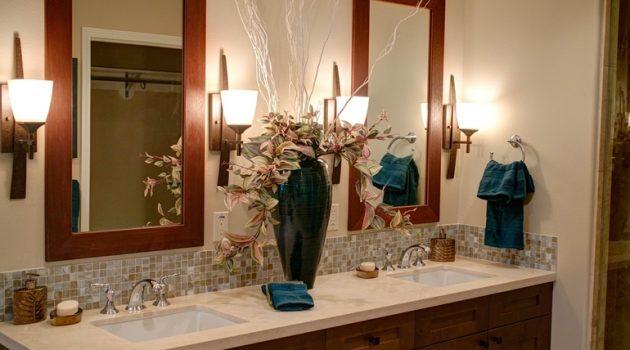 Plafon czy kinkiet w łazience