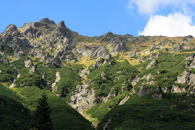 góry jesień