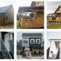 domki drewniane z poddaszem
